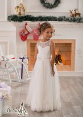 Cute bridesmaid dresses for little girls ideas 33